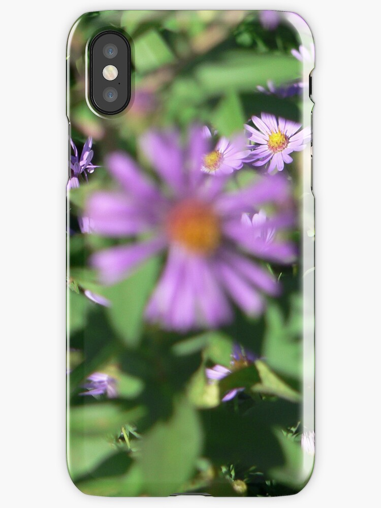 flowers3 iphone case by andytechie