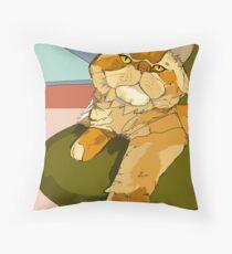 Monsieur Buch Throw Pillow