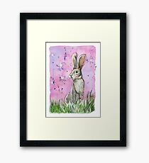 Willow the hare Framed Print