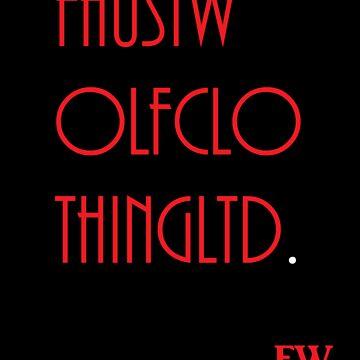 FAUSTWOLFCLOTHINGLTD. by Faustwolf
