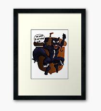 The unbeatable Squirrel Venom Framed Print