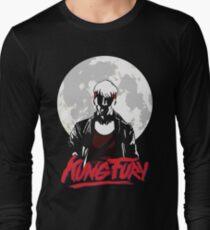 Kung Fury - Moon Long Sleeve T-Shirt
