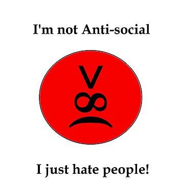 I'm not anti-social by trudywinn