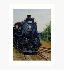 CP Engine 1201 Art Print