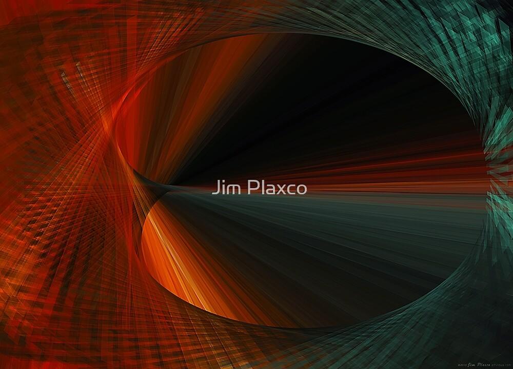 Tunnel Vision Algorithmic Art by Jim Plaxco