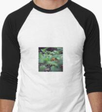 Clever Pat Men's Baseball ¾ T-Shirt