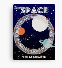 Explore Space Canvas Print