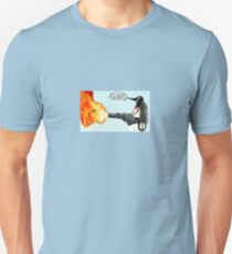 Penguin with a flamethrower... T-Shirt