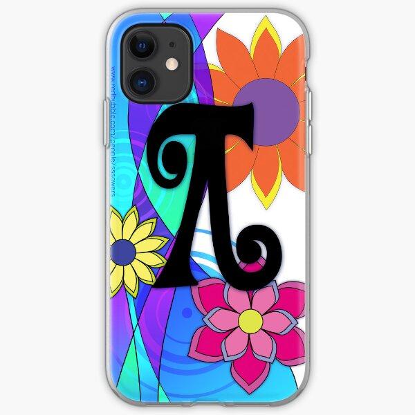 Flashy Hippie Flowers iPhone Soft Case