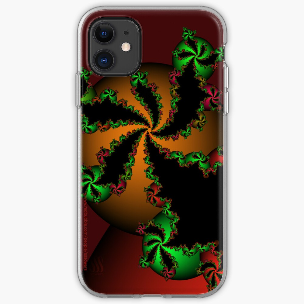 Jingle Bells Fractal iPhone Case & Cover
