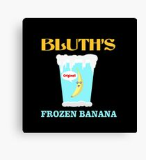 Frozen Banana! Canvas Print