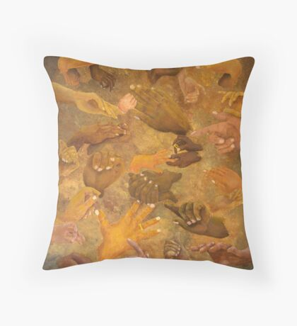 Citizens Of Earth Throw Pillow