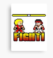 'FIGHT!' Canvas Print