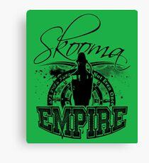 Skooma Empire - Not even once! Canvas Print
