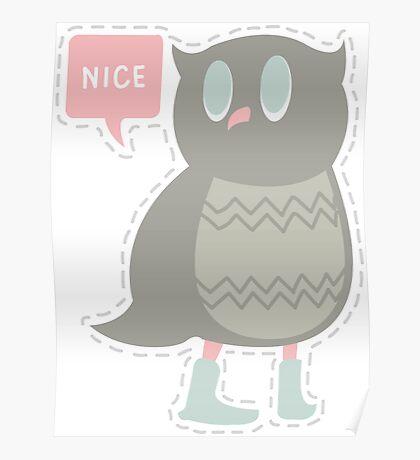 Ye Owl Poster