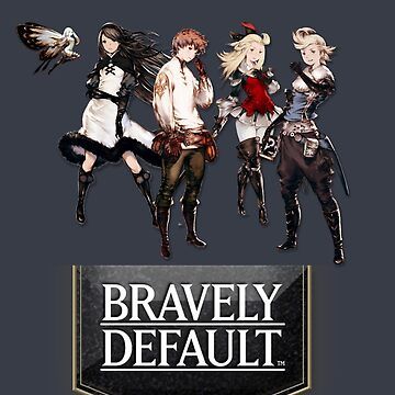 Bravely Default characters by Ixva