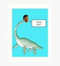 Loch Ness Mobster Art Print