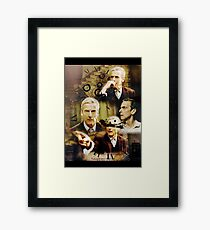 Twelfth Doctor, doctor who Framed Print