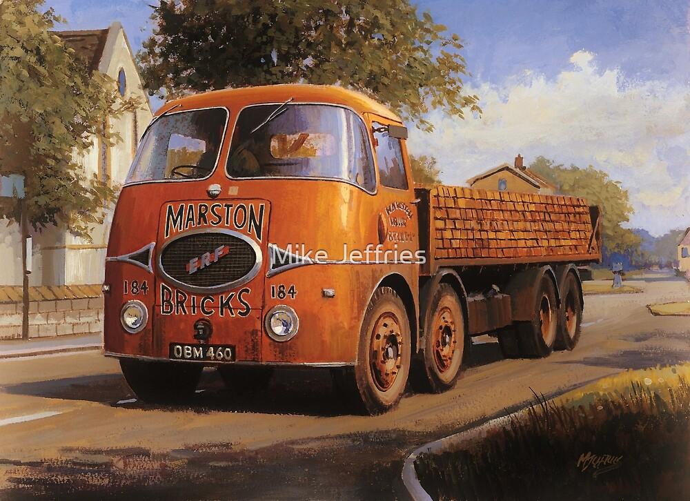 ERF KV Marston Brick by Mike Jeffries