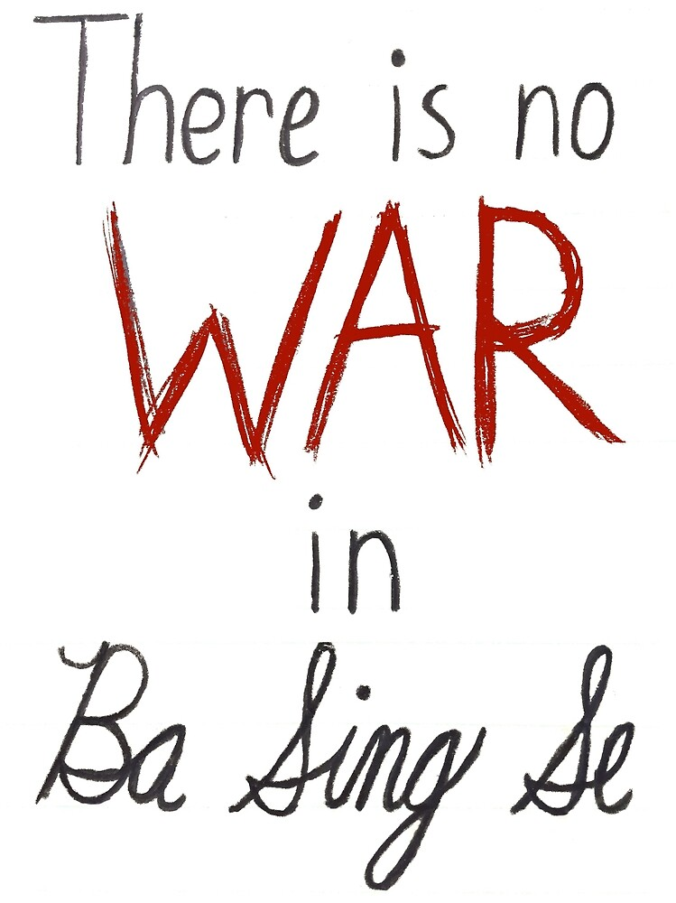 There is no war in Ba Sing Se by silvervine