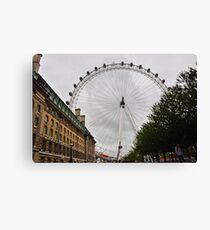 Watchful London Eye Canvas Print