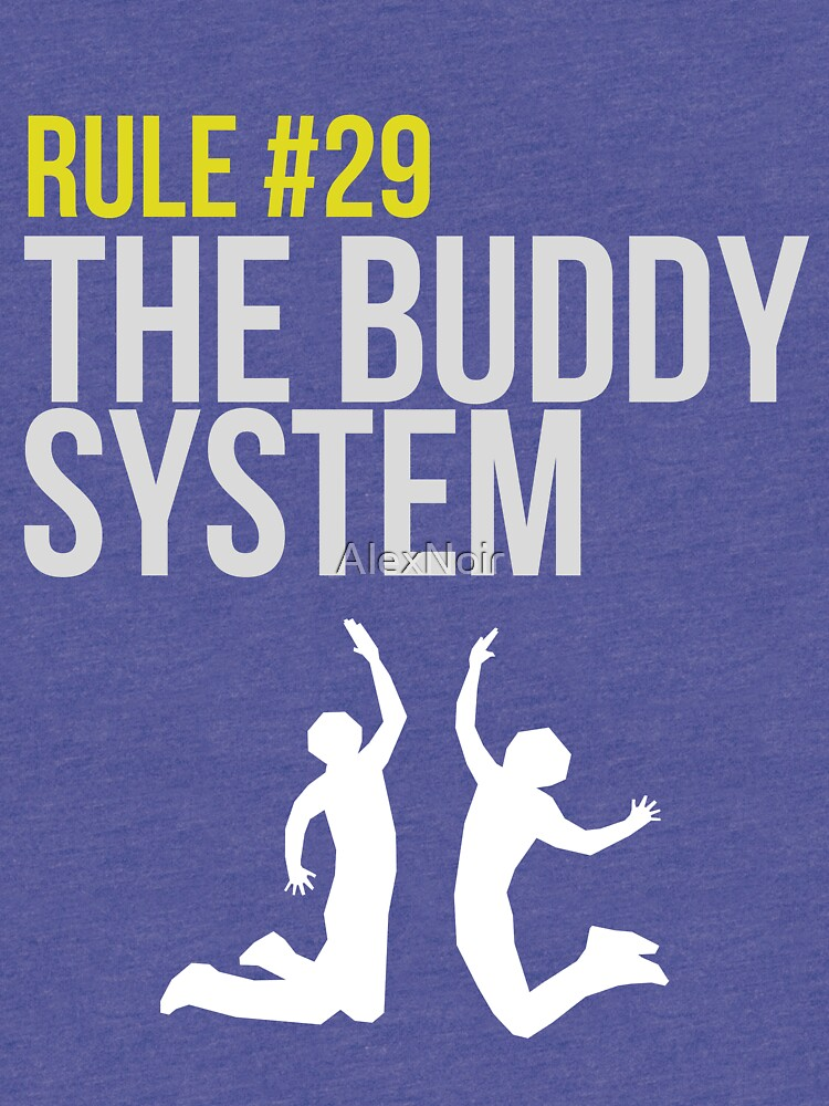 Zombieland Survival Guide - Rule #29 - The Buddy System von AlexNoir