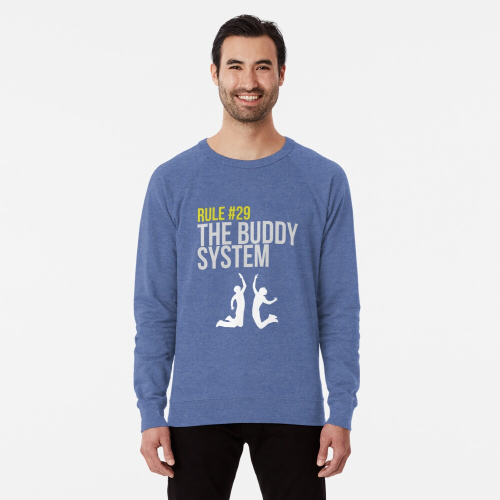Zombieland Survival Guide - Rule #29 - The Buddy System Leichter Pullover