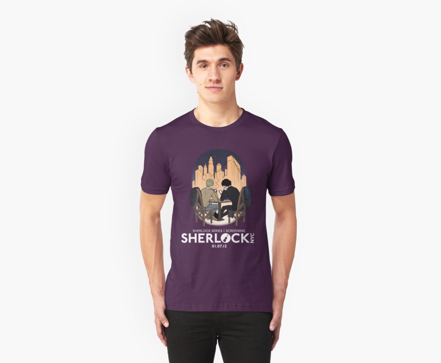 Sherlock NYC - SCREENING - Night (White Logo) by SherlockNYC