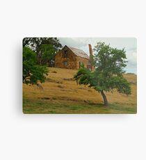Stone Cottage Metal Print