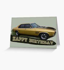 GTS Monaro  Greeting Card