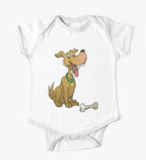 Cartoon dog with bone Kids Clothes