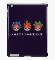Hard Choices iPad Case/Skin