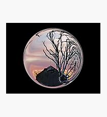 Cindy's Snow Globe's Photographic Print
