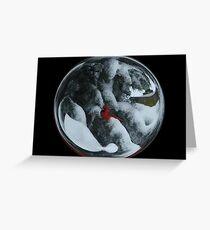 Cindy's Snow Globe's 6 Greeting Card