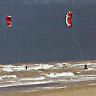 Winter Surfing by stephen denton