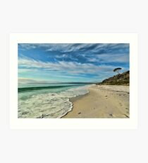 Hyams Beach - Jervis Bay Art Print
