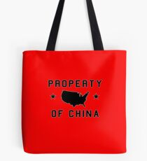 Property of China (sport version) Tote Bag