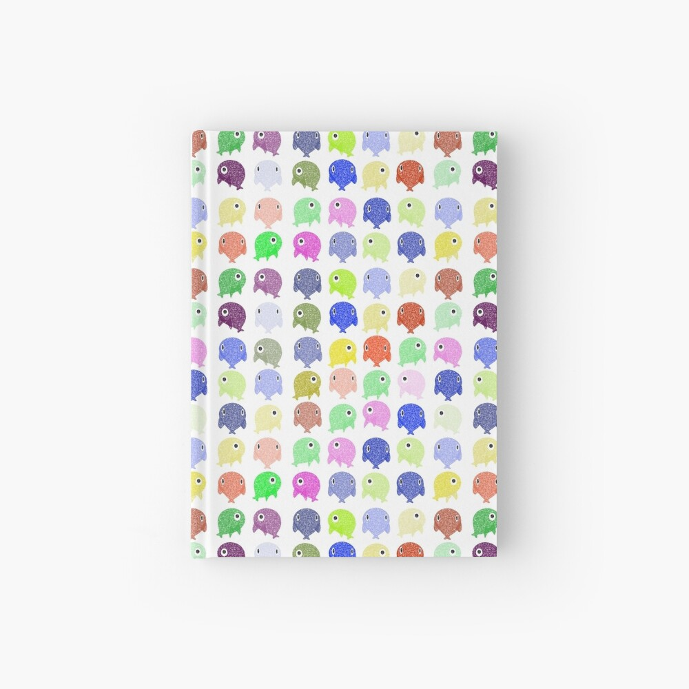 Colorful Whales Hardcover Journal