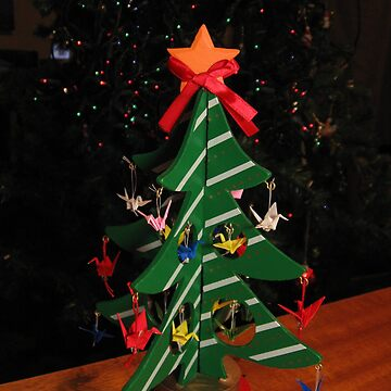 Origami Christmas Tree by midorikawa