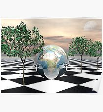 Checker Trees Poster