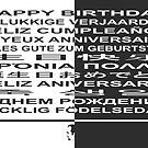 Happy Birthday! in many languages by AnnoNiem