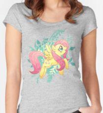 Flutter Nature Women's Fitted Scoop T-Shirt