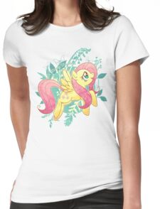 Flutter Nature Womens Fitted T-Shirt