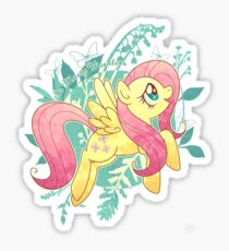 Flutter Nature Sticker