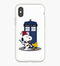 Snoopy Who. iPhone Case