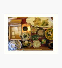"""""""Bento Box Surpreme"""", Tokyo Art Print"""