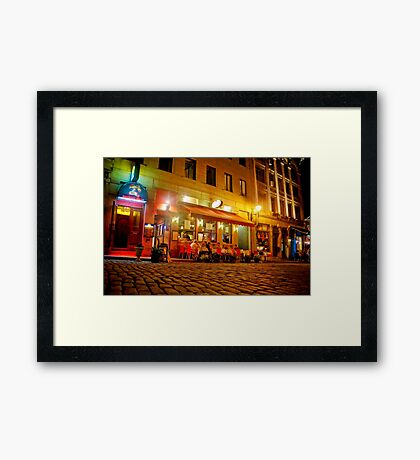 Spectacles Baladi Framed Print