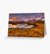 Rannoch Moor, Glencoe, Scotland Greeting Card