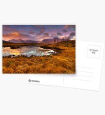 Rannoch Moor, Glencoe, Scotland Postcards