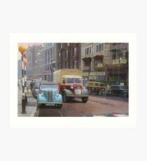 British Railways Austin K2 two-tonner. Art Print
